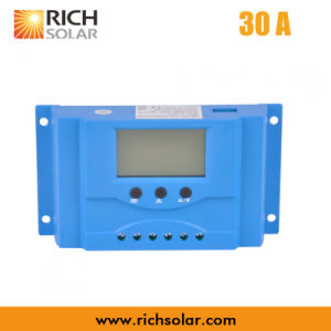 High Efficiency PWM Solar Charge Controller for Solar Power System (30A)