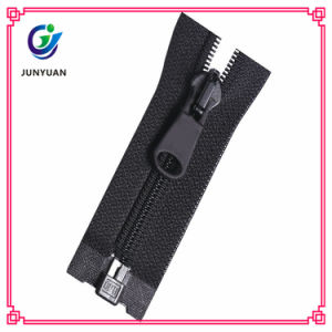 Open End Standard Nylon Zipper Melt Bottom Stop for Sale pictures & photos