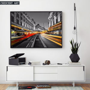 Big City Vibe View Canvas Prints
