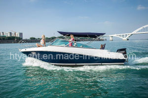 22′ Fiberglass Sporty Leisure Speed Boat Hangtong Factory-Direct pictures & photos