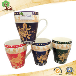 Ceramic Mug with Classic Decorative Pattern pictures & photos