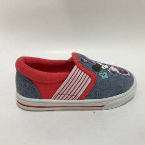 New Design Children Canvas Injection Shoes, Sport Casual Shoes, All Sizes Range for Wholesale