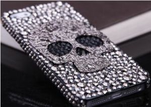 Skeleton Diamond Phone Case for iPhone 4 4s 5 5s 5c6 6 Plus 7 7 Plus Back Cover pictures & photos