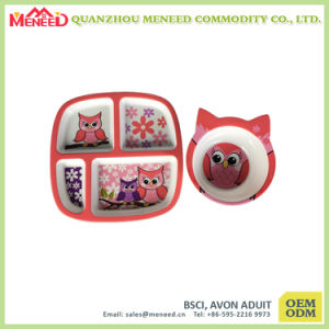 Popular Among Kids Food Grade Plastic Melamine Dinnerware
