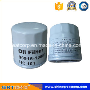 Auto Parts Engine Oil Filter for Toyota 90915-10001