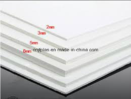 High Quality PVC Sign Board, Advertisement Printing Board, White High Density PVC Foam Board pictures & photos