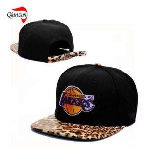 Snapback Caps with Leopard Briml pictures & photos