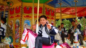 Amusement Park Deluxe Carousel for Kiddie Rides pictures & photos