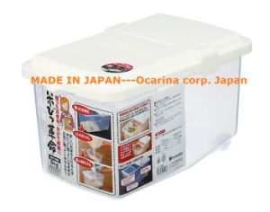 China Plastic Food Container for Rice Storage Bin 5kg Model 1250