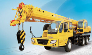 Qy16b. 5 Truck Mobile Crane for Sale