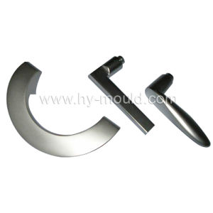 Zinc Alloy Handle, Aluminium Door Handle for Die Casting