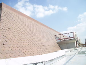 Competitive Price and Attractive Surface Fish-Scale Copper Roofing Tiles