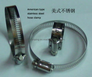 High Strength American Type Hose Clip pictures & photos