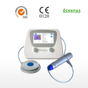 Shock Wave Therapy Equipment / Physiotherapy Equipment for Plantar Fasciitis and Achilles Tendon