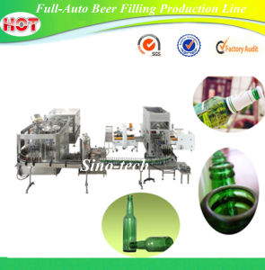 Full-Auto Beer Filling Production Line pictures & photos