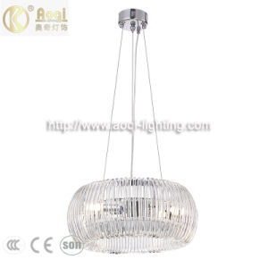 Hot-Sale Modern Style Crystal Glass Lamp Decorative Pendant Light (AQ-40090-6)