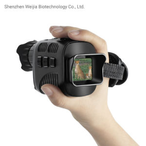 7 Levels of IR Adjustment Digital Night Vision Camera Telescope Monocular with Video and Photo Recording for Camping Wildlife Outdoor Activities