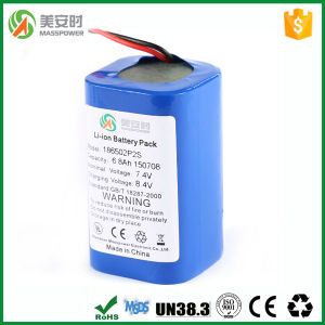 18650 Battery Pack 6800mAh 7.4V