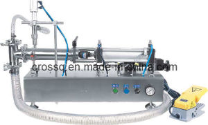 Semi-Auto Fillling Machine for Liquid FM-SLT