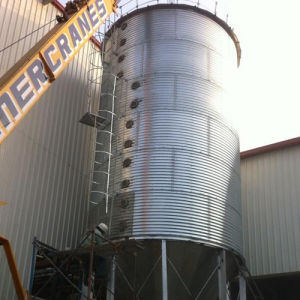 Customized Galvanized Steel Grain Storage Silo pictures & photos