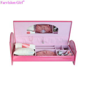 China Doll Bed Pink Furniture American Girl Doll Accessories China