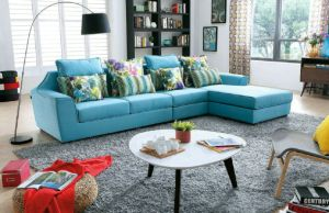 Modern Design L Shape Corner Sectional Sofa pictures & photos