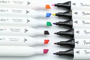 44 Colors Twin Tip Permanent Farbic Textile Marker pictures & photos