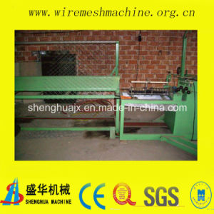 Low Price Semi-Automatic Chain Link Fence Machine Manufacturer pictures & photos