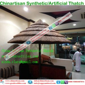 Waterproof Synthetic Thatch Artificial Thatch Palm Leaf Thatch Umbrella pictures & photos