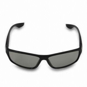 Plastic Circular Polarized 3D Glasses for Watching 3D TV