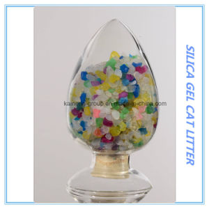 Colored Silica Gel Cat Sands/Silica Desiccant pictures & photos