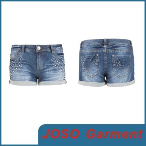 Women Fashion Denim Jean Shorts (JC6034) pictures & photos