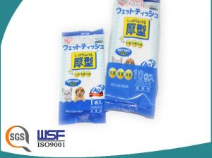 25PCS 100PCS Pet Wet Tissue Scented or Unscented OEM Welcomed