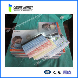Disposable Non Woven 3-Ply Medical Face Mask with Design