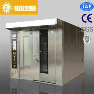 CE ISO Approval Rotary Baking Oven for Bread Baking 64 Trays Rotary Baking Oven with Rack Trolley