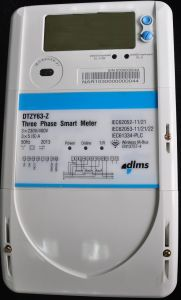 Three Phase Watt-Hour Meter pictures & photos