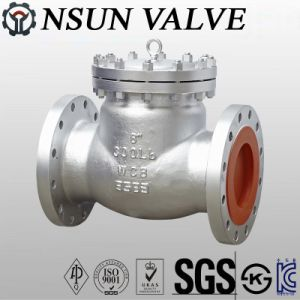 API Flanged Casting Steel Swing Check Valve