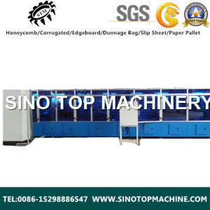Automatic Currugated Core Machine for Display Stand and Furniture pictures & photos