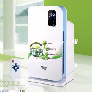 LCD Display Air Cleaner with Remote Control with Air Ionizer
