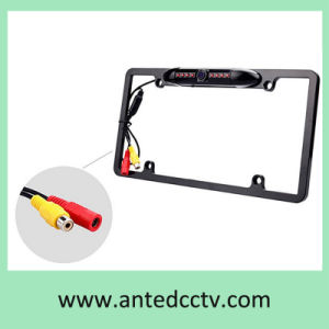American License Plate Frame Car Rear View Camera with 170 Degree Wide Viewing Angle pictures & photos