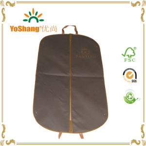 Wholesale Cheap Foldable Long Wedding Dress Non Woven Garment Bag, Suit Cover for Dry pictures & photos