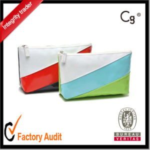 New Wholesale Bulk Private Label Leather Cosmetic Bags pictures & photos
