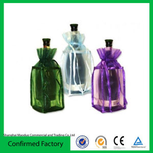 Colorful Plain Organza Promotion Gift Bag for Wedding Gift and Decoration (MD-AD-4005)