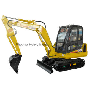 CE Certified 4ton Excavator with Bucket Capacity of 0.17m3 pictures & photos