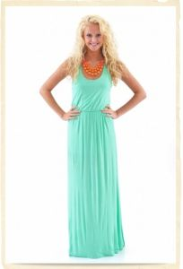 Beach Maxi Lady Dress (HSL006)
