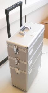 New Design Aluminum Three Layer Composite Draw-Bar Case pictures & photos