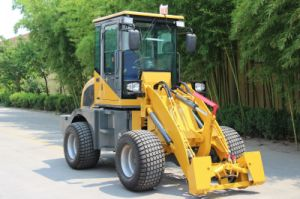 High Quality with Hydraulic Joystick Farm Tractor Zl10 Wheel Loader pictures & photos