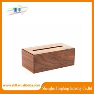 Wood Grain Paper Extraction Box
