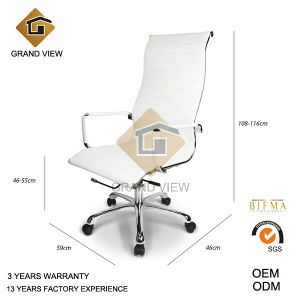 White Leather High Back Modern Life Office Chair (GV-OC-H306) pictures & photos