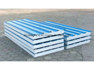 Wall & Roof EPS Sandwich Panels for Prefabricated Steel Structure Building (DG9-018) pictures & photos